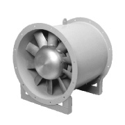 Showa Denki Axial fan with a variable pitch A1D3
