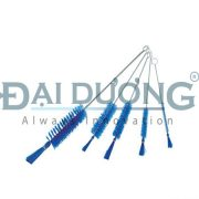 Brush for Syringe PBT Hair Stainless Steel Handle for 1cc and others