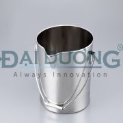 Stainless Steel Buckets (With Spout) and others